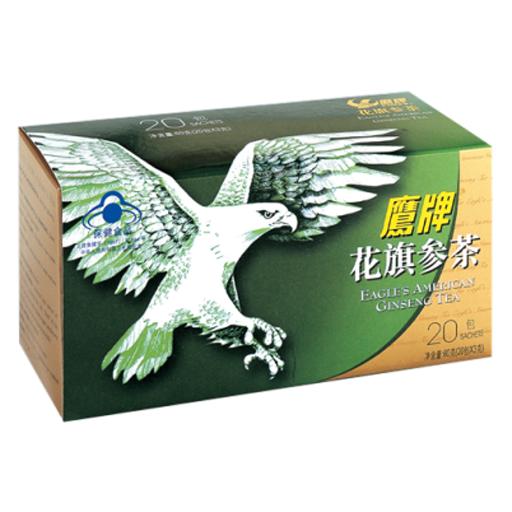 鹰牌花旗参茶 (20包普通装)
